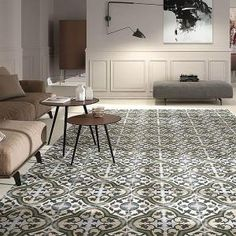 Merola Tile Evoque Carthusian 9-3/4 in. x 9-3/4 in. Porcelain Floor and Wall Tile (10.76 sq. ft. / case) FCD10EVC at The Home Depot - Mobile