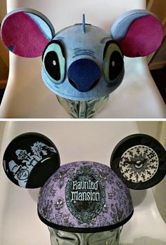 DIY Stitch hat with ears!