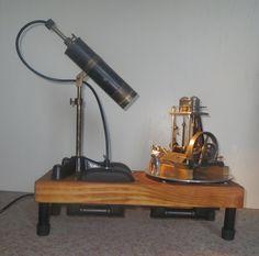 L&O 02b: twin vertical steam machine