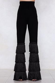 1743dae6 Hang On to Yourself Fringe Pants Rocker Girl, Rocker Chick, Fringe Pants,  Goth