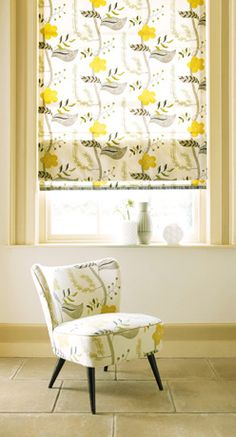This is a fun gray & yellow pattern...