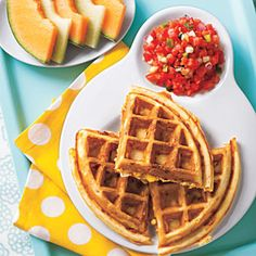 Budget Meal Planning:  Corn and Cheddar Waffles | AllYou.com