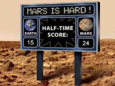 Earth v Mars