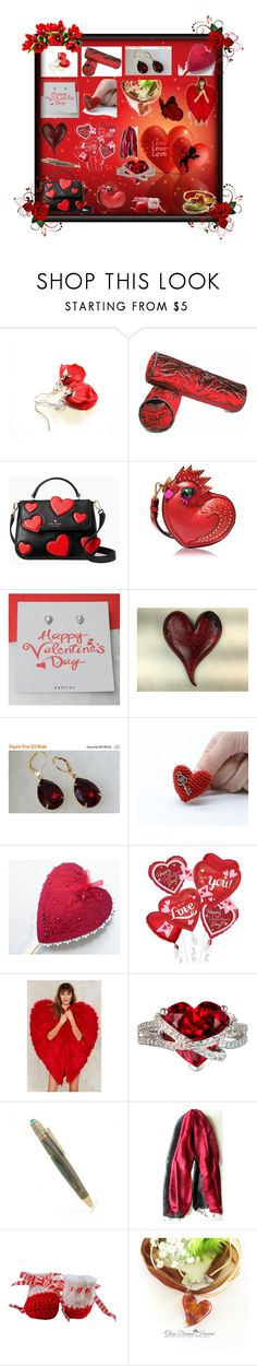 """""""...Love-Love-Love..."""" by sylvia-cameojewels ❤ liked on Polyvore featuring Kate Spade, MCM and Nasty Gal"""