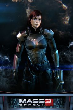 Mass Effect 3 - Female Shepard (I only put her on here because she seems awesome, I would never attempt to cosplay her until I play the games though)