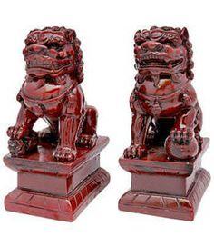 Fu Dog statues in feng shui http://fengshui.about.com/od/fengshuigoodluckcures/ig/Feng-Shui-Fu-Dogs/ Find more feng shui decor tips: http://FengShui.About.com