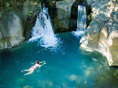Waterfall, Rincon de la Vieja #PrincessCruises  #travel