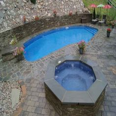 Get Inspired: Exploring Spa and Pool Combination Designs Exploring, Swimming Pools, Custom Design, Spa, Landscape, Inspired, Luxury, Building, Outdoor Decor