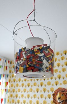 sylvester's room tour - Lego Light! #lego #lighting #kids