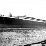 Titanic Launched For Fitting Out