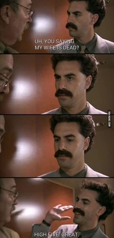 Borat Best Sayings Funny Clip Youtube, Offensive Quotes, Stylish Words, Good Movies, Amazing Movies, Funny Clips, Funny Quotes About Life, Hilarious, Films