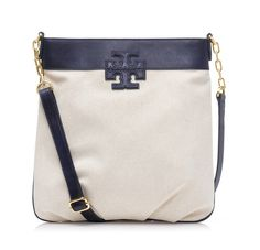 """Tory Burch Stacked """"T"""" Book Bag"""