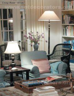 Minden végzet nehéz (Something's Gotta Give - Erica Barry Living Room)