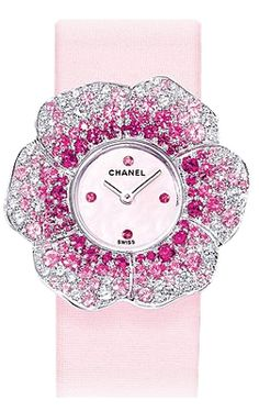 Chanel Camelia Women's Watch $15,938.00 (but, free ship) ;)  Gee I have such good taste!