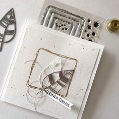 Karten-Kunst » Kleiner Blättergruß