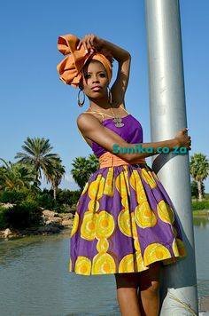 The Truth About Ankara Fabric ‹ NU People Magazine African Print Fashion, Fashion Prints, Fashion Design, African Prints, African Beauty, African Women, Jamaica Culture, African Traditional Dresses, Little Fashion