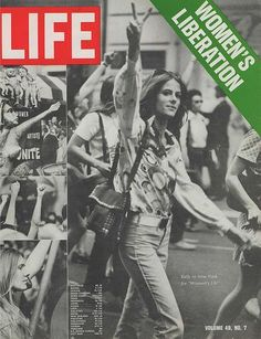 Life Magazine - Women's Liberation Do you remember the day we decided we were tired of skirts, and showed up at school en masse wearing blue jeans? Description from pinterest.com. I searched for this on bing.com/images