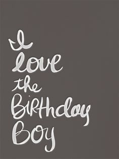 My fiance is having a birthday today!  He's the best thing that ever happened to me!! <3