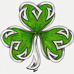 Celtic Knot With Leaf Tattoo Design photo - 5