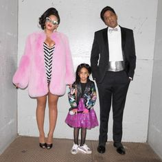 The best Halloween costume for 2016: 80s Barbie and Ken with little baby girl. @Beyonce @S_C_