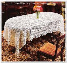 Como No Tempo da Vovó: Toalha de mesa