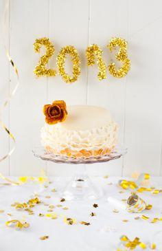 Hazelnut Sponge Cake - Lulu's Sweet Secrets: Happy New Year!