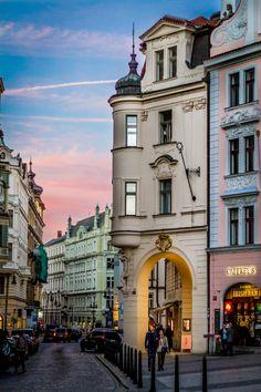 Buildings just off Old Town Square, Prague Places To Travel, Places To Visit, Visit Prague, Dubai Skyscraper, Prague Travel, Prague Czech Republic, Heart Of Europe, Old Town Square, Paris Ville