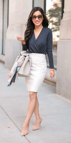 11dd51ec01 45 Trendy Ways to Wear Pencil Dress for Work
