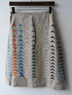 bird skirt @Sarah Dudgeon this looks like something you should make (maybe for me - ha ha)