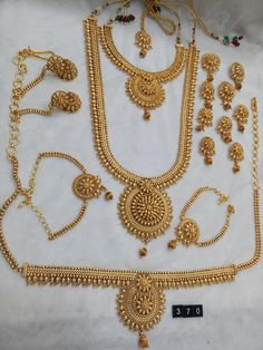 Indian Wedding Jewelry Bridal Jewellery India Sets Gold