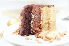 Tort Czekoladowo – Karmelowy Ombre