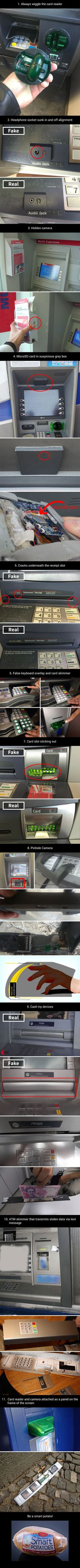 ATM scams that you should be aware of - Imgur