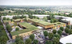 Ameller, Dubois Associés - The projects - Serris - Childhood center