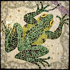 Image result for mosaic frog pictures