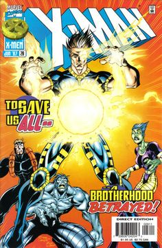 X-Man # 28 by Roger Cruz & Bud LaRosa