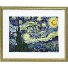 Stitchery.com T54-753 van Gogh's Starry Night