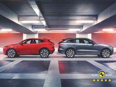 """51.9k aprecieri, 120 comentarii - Jaguar (@jaguar) pe Instagram: """"The 5-Star PACE family. #Jaguar #EPACE #FPACE #SUV #CarsofInstagram"""""""