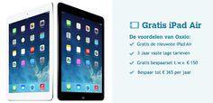 Oxxio iPad aanbieding