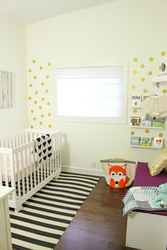 A Bright and Modern Nursery for a Baby Girl — My Room