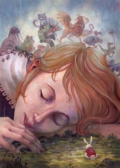 """Alice Dreams"" by Laura Bifano"