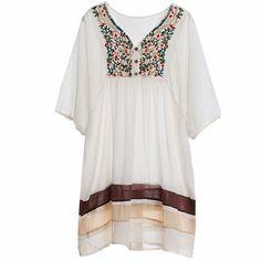 39,90EUR Kleid weiss Hippiekleid im bohemian Style                                                                                                                                                                                 Mehr