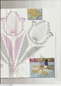 Domowy kołowrotek: Tulipan (wzór) na Stylowi.pl