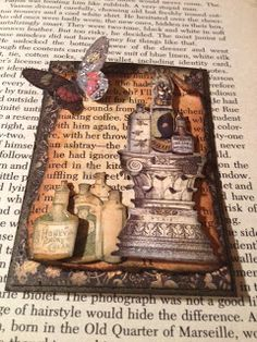 Scrap'n With Flair: ATC Book Page Swap