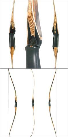 Tomahawk Bows® Woodland Hunter Longbow - Takedown Diamond Series