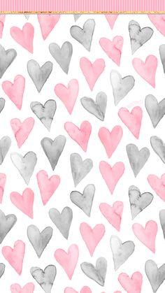 Phone Wallpapers HD Pink Hearts – simplistic – by BonTon TV – Free Backgrounds Phone Wallpapers HD Pink Hearts – simpel – von BonTon TV – Kostenlose Hintergrundbilder Teen Wallpaper, Homescreen Wallpaper, Pink Wallpaper Iphone, Heart Wallpaper, Cellphone Wallpaper, Wallpaper Backgrounds, Computer Backgrounds, Design Textile, Design Floral