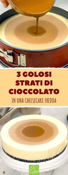 Biscotti Cheesecake, Dessert For Dinner, Cheesecakes, Just Desserts, Recipies, Cacao, Food And Drink, Sweets, Baking