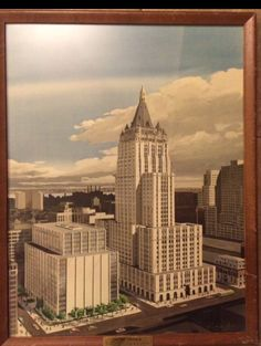 Insurance Ads, Life Insurance Companies, New York Life, Old Ads, Financial Planning, Vintage Advertisements, Empire State Building, 1950s, Skyline