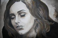 I paint Adele