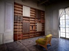 Maschera bookcase.
