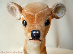 Steiff Walt Disney Bambi 1960s version 8 inch by ShabbyGoesLucky,